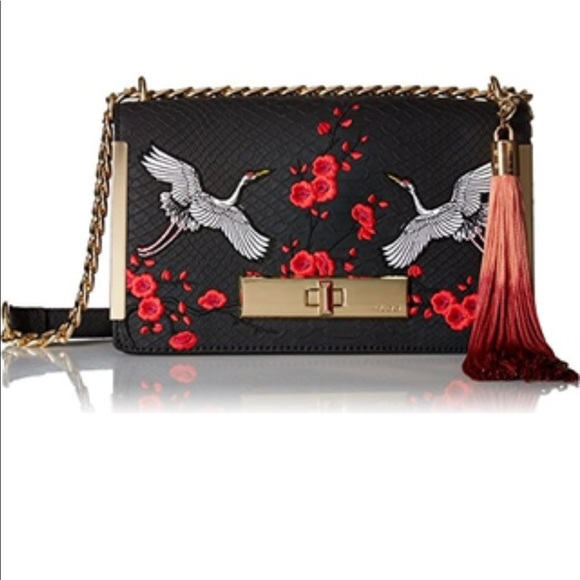 748344e7020 Aldo Handbags - Aldo Crossbody Black crossbody Embroidered